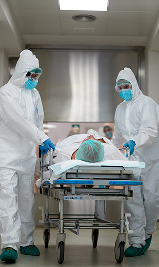 ER patient transfer to ICU