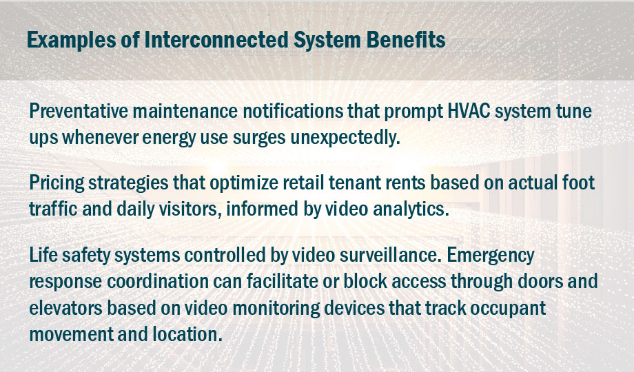 Examples of Interconnected System Benefits graphic